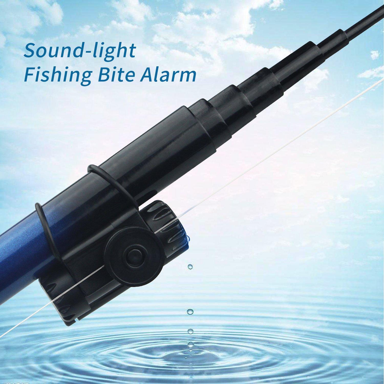 Amazon.com: Alarma para cebo de pesca, tamaño mini, fácil de ...