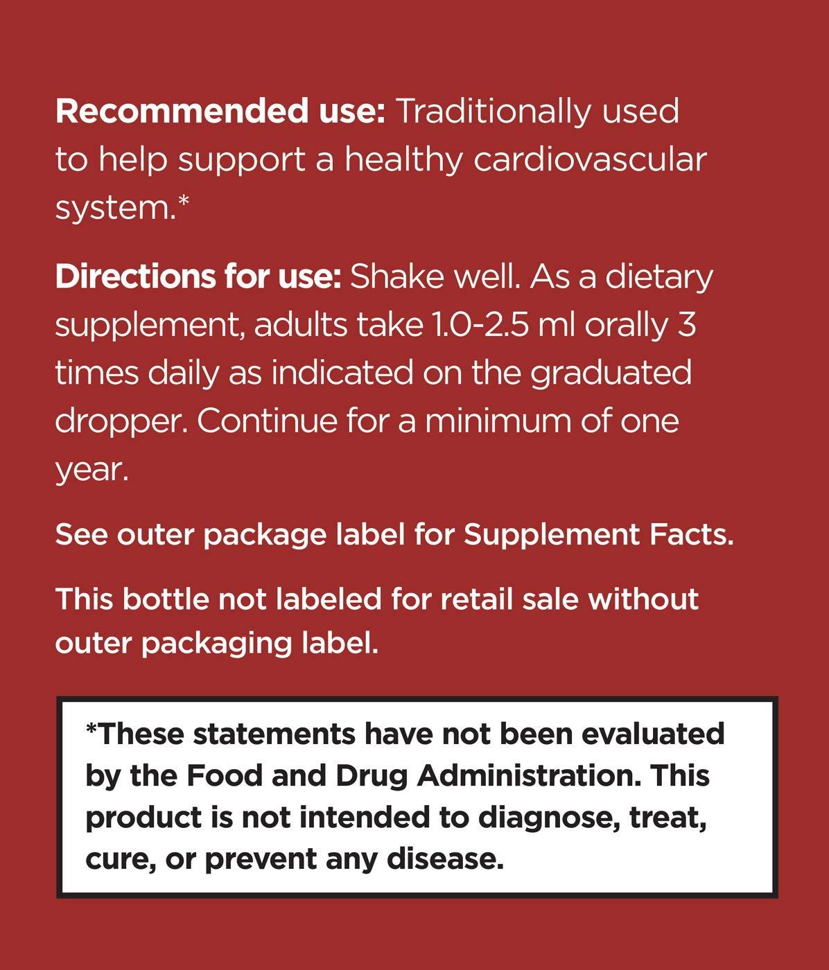 Strauss Heartdrops Aged Garlic Extract, Herbal Supplement for Heart Health- Herbal Formula Maintain a Healthy Cardiovascular System High Quality, Natural Ingredients 3.4 fl oz Cinnamon Flavor