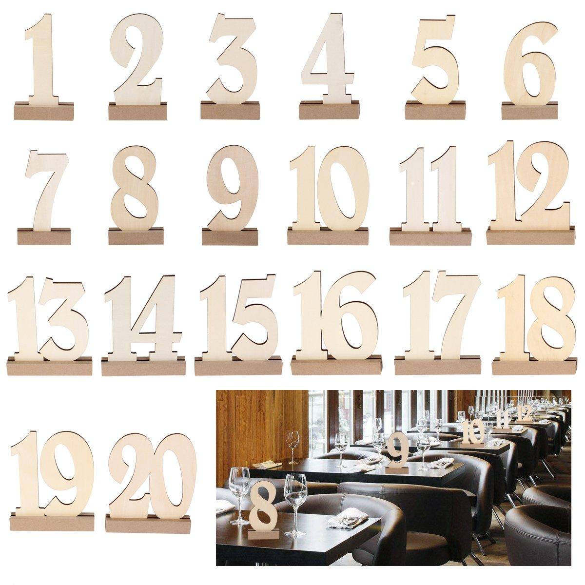 Numeri per tavoli ristorante fai da te jn57 regardsdefemmes - Tavoli rustici fai da te ...