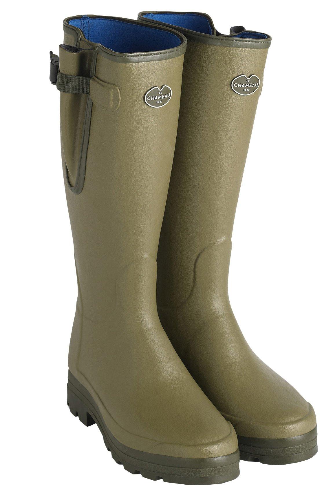 Le Chameau Men's Vierzonord Neoprene Lined Boots Vert Chameau Green - US 11 by LE CHAMEAU 1927
