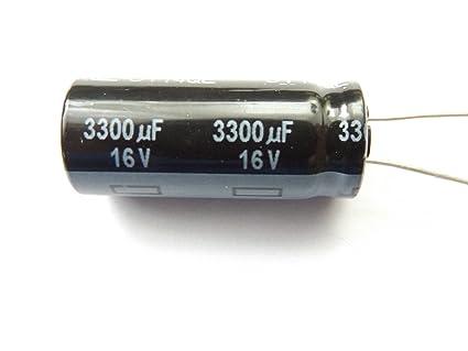 3300uf 16v 105c Low ESR Size 35mmx12.5mm Long Life Panasonic EEUFC1C332 x3pieces