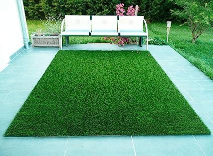 CHETANYA High Density, Artificial Grass, Artificial Grass Carpet,Mat for Balcony, Lawn, Floor Mat,Foot Mat, Doormat (3 Feet x 6.5 Feet).