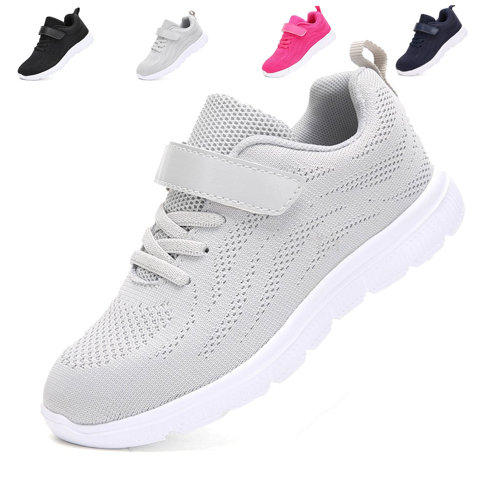 adituo Kids Lightweight Sneakers Boys and Girls Cute Breathable Walking Casual Running Shoes ZY-026