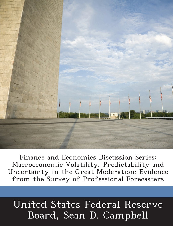 Finance and Economics Discussion Series: Macroeconomic