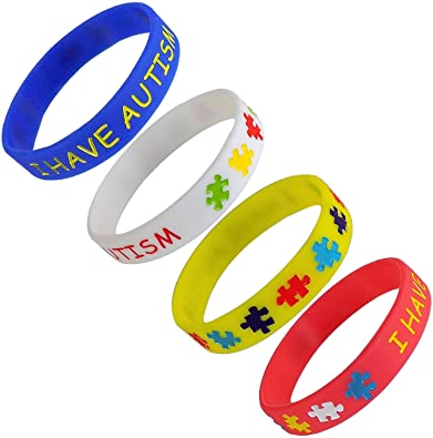 autistic il kids bracelet autism allergy awareness listing medical id
