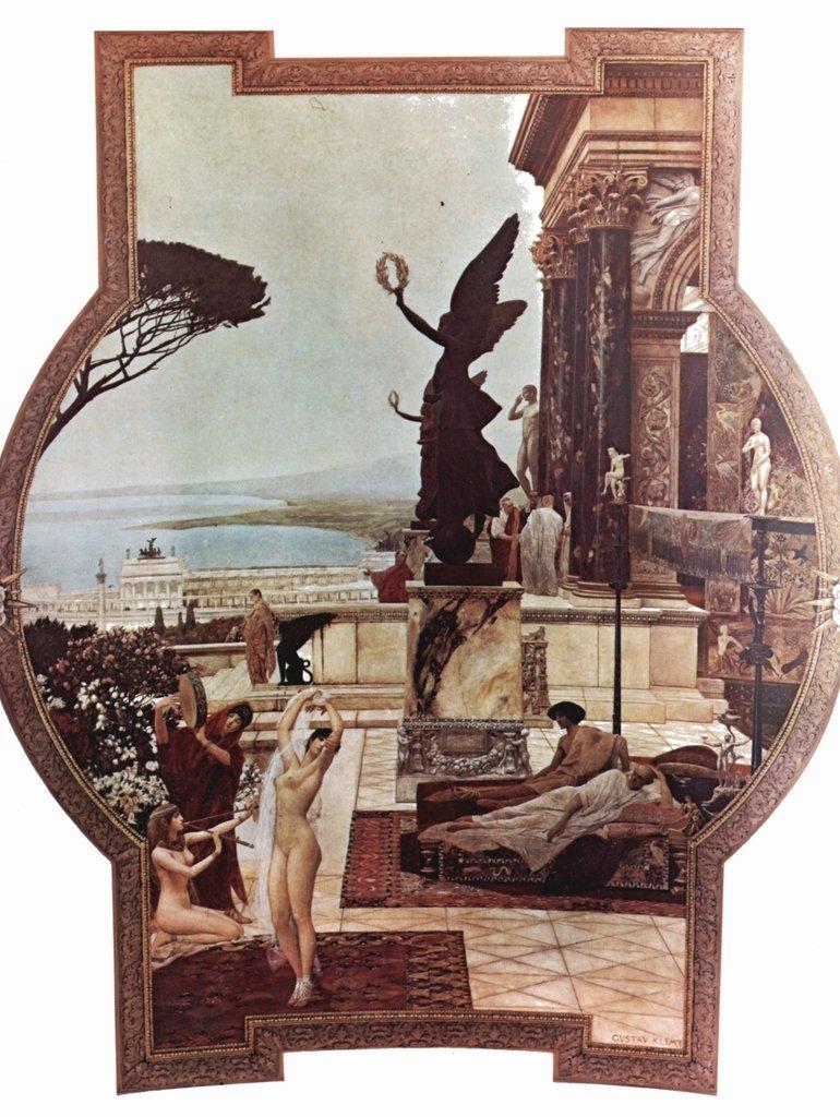 Lais Puzzle Gustav Klimt - Il teatro di Taormina 2000 Pezzi