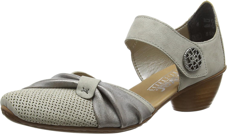 Rieker 43721, Zapatos de Tacón para Mujer