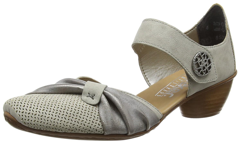 TALLA 40 EU. Rieker 43721, Zapatos de Tacón para Mujer
