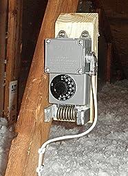 Peco Tf115 001 Nema 4x Line Voltage Thermostat Gray