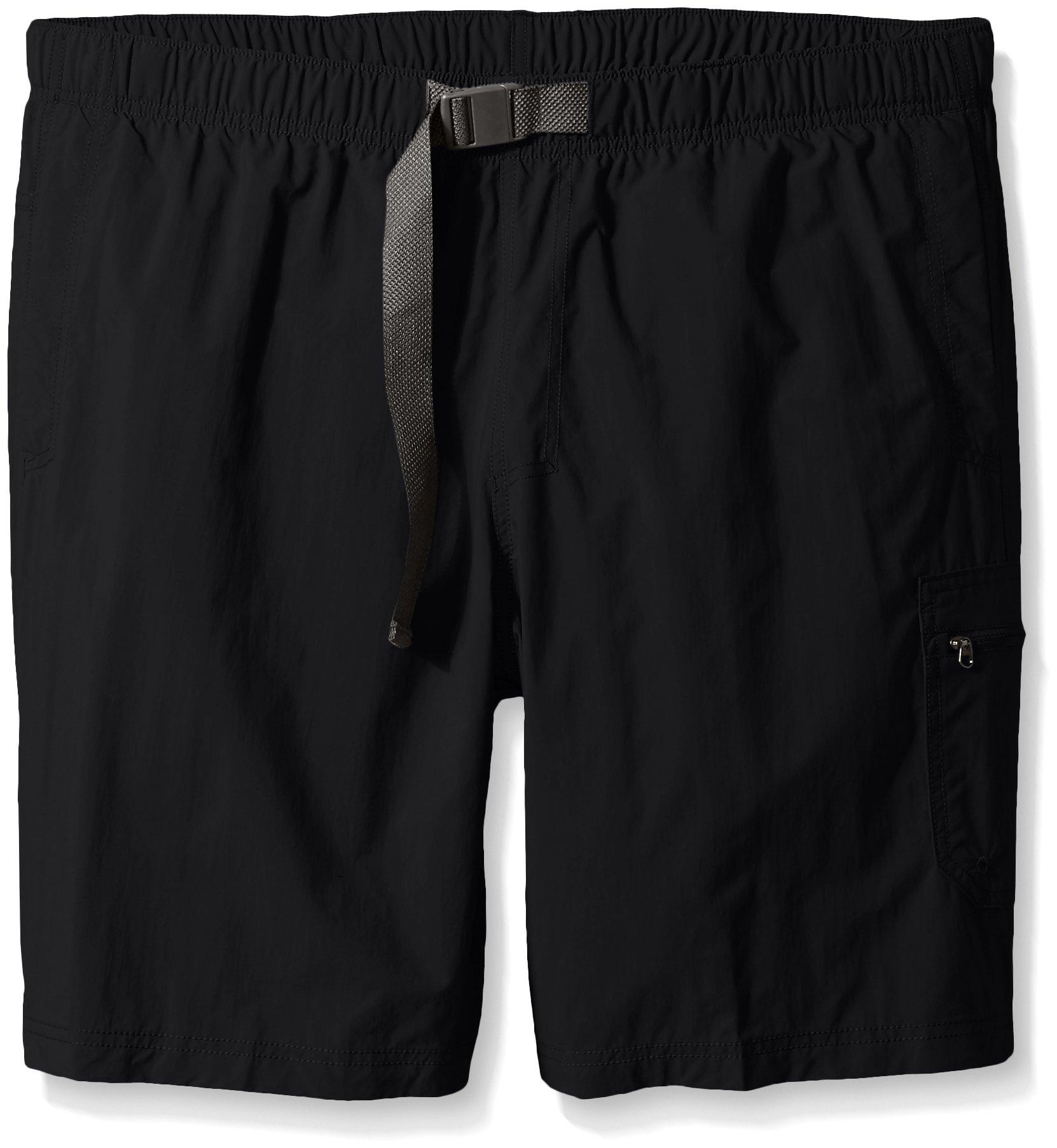 Columbia Men's Palmerston Peak Short, Waterproof, UV Sun Protection, Black, 3X x 9'' Inseam