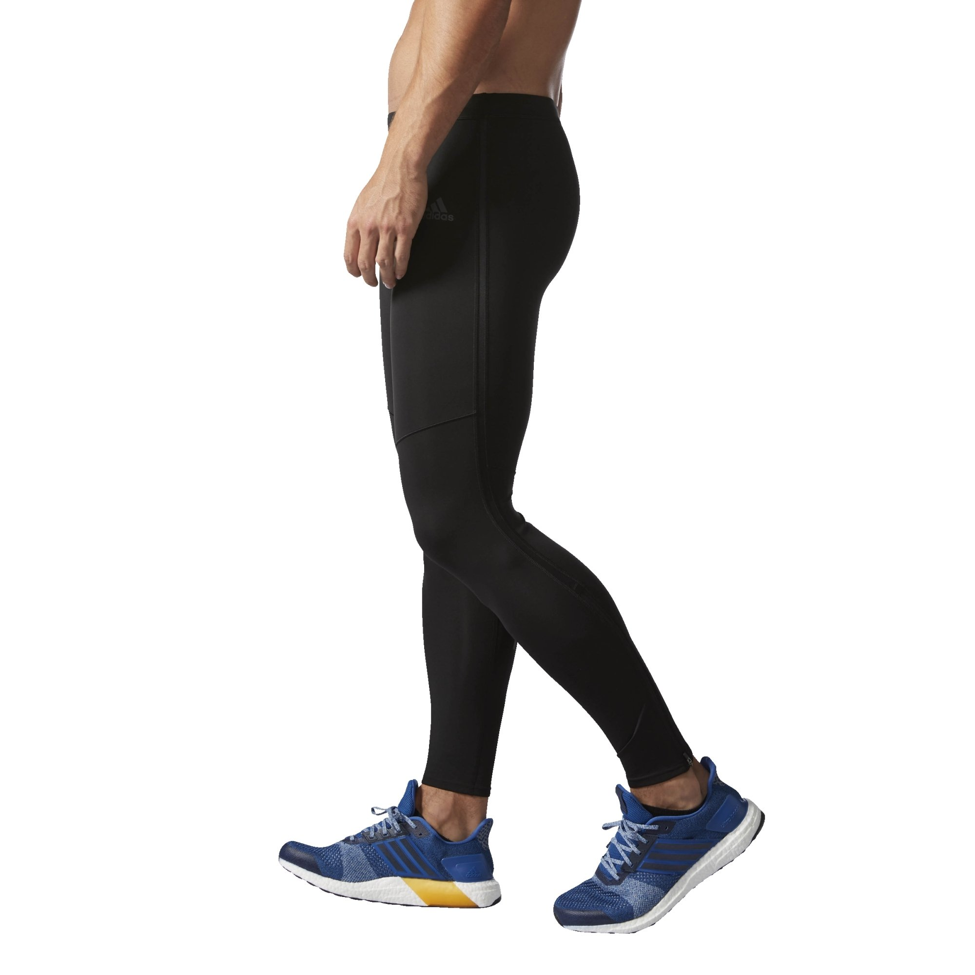 adidas Men's Running Response Long Tights, Black, Large by adidas (Image #5)