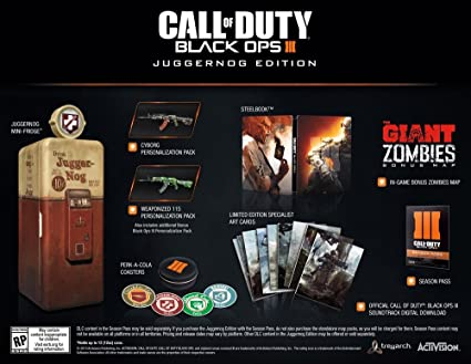 Mini Kühlschrank Juggernog : Call of duty black ops iii juggernog edition playstation