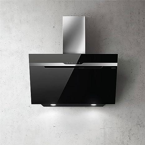 Campana Cocina Elica pared Majestic cristal negro 90 cm: Amazon.es: Grandes electrodomésticos
