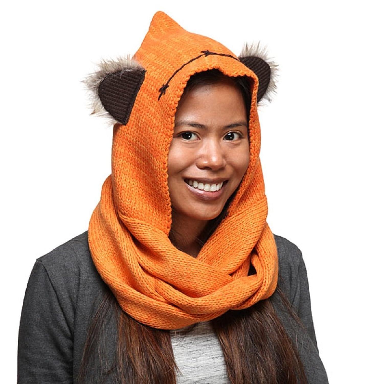 Amazon.com: Star Wars Ewok Knit Hooded Scarf: Clothing