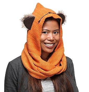Knitted Ewok hood 3cm0KaA
