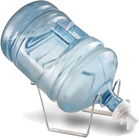 finedine cromo 1- 5 galones Dispensador de agua jarra de agua Soporte y válvula para