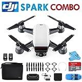 DJI Spark Quadcopter Mini Drone Fly More Combo (Alpine White)