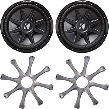 GR100 Grill for Kicker 10 Round Subwoofers