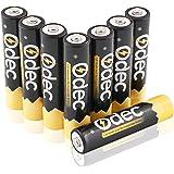 Odec AAA Ni-MH Piles Rechargeables, 1,2 V 1000mAh, lot de 8, 1200 cycles