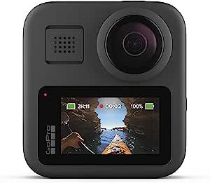 Câmera GoPro MAX 360, Preto