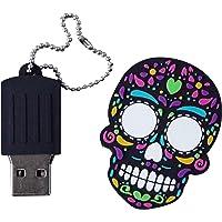 By Mexico USB modelo Calavera negra 16 GB