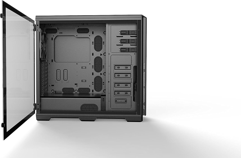 Phanteks Enthoo Pro Tempered Glass Full-Tower Negro - Caja de Ordenador (Full-Tower, PC, Acero, Vidrio Templado, Negro, ATX,EATX,Micro ATX,Mini-ITX, 19,3 cm): Amazon.es: Informática