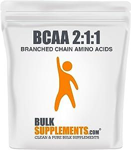 BulkSupplements.com BCAA 2:1:1 (Branched Chain Amino Acids) (1 Kilogram - 2.2 lbs - 667 Servings)