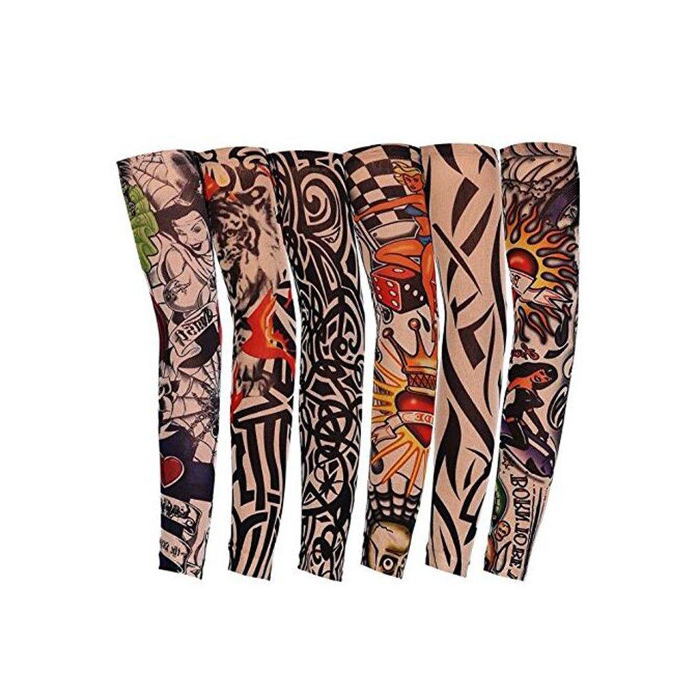 Unicoco Temporary Gefälschte-Slip Tattoo Sleeves Arm Strümpfe Ultra Hohe Qualität