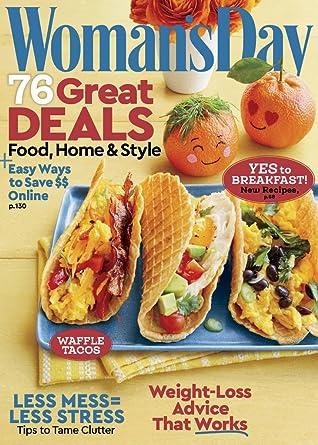 Woman S Day Amazon Com Magazines