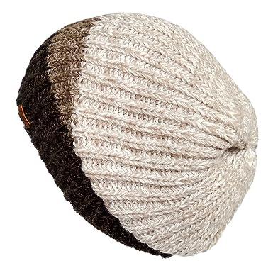 LETHMIK Unique Winter Skull Beanie Mix Knit Slouchy Hat Ski Cap For Men    Women Beige at Amazon Men s Clothing store  3e8830c055b4