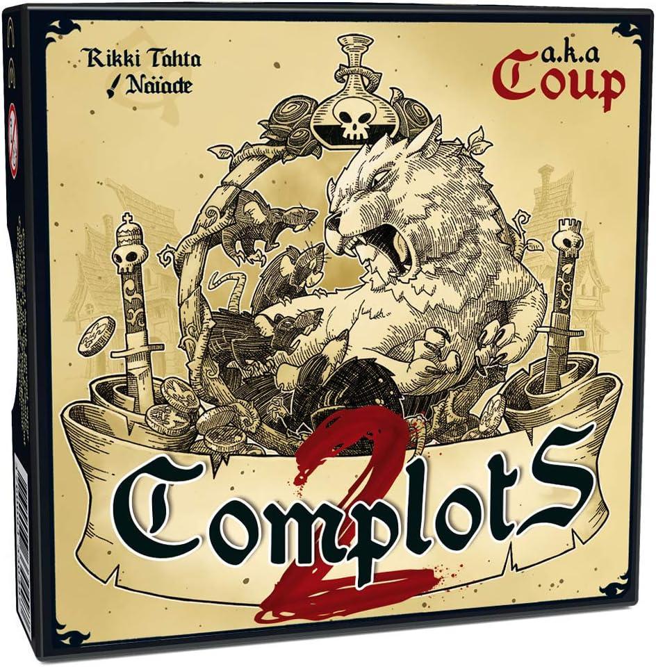Ferti Games – Juego de salón, complots 2: Amazon.es: Juguetes y juegos