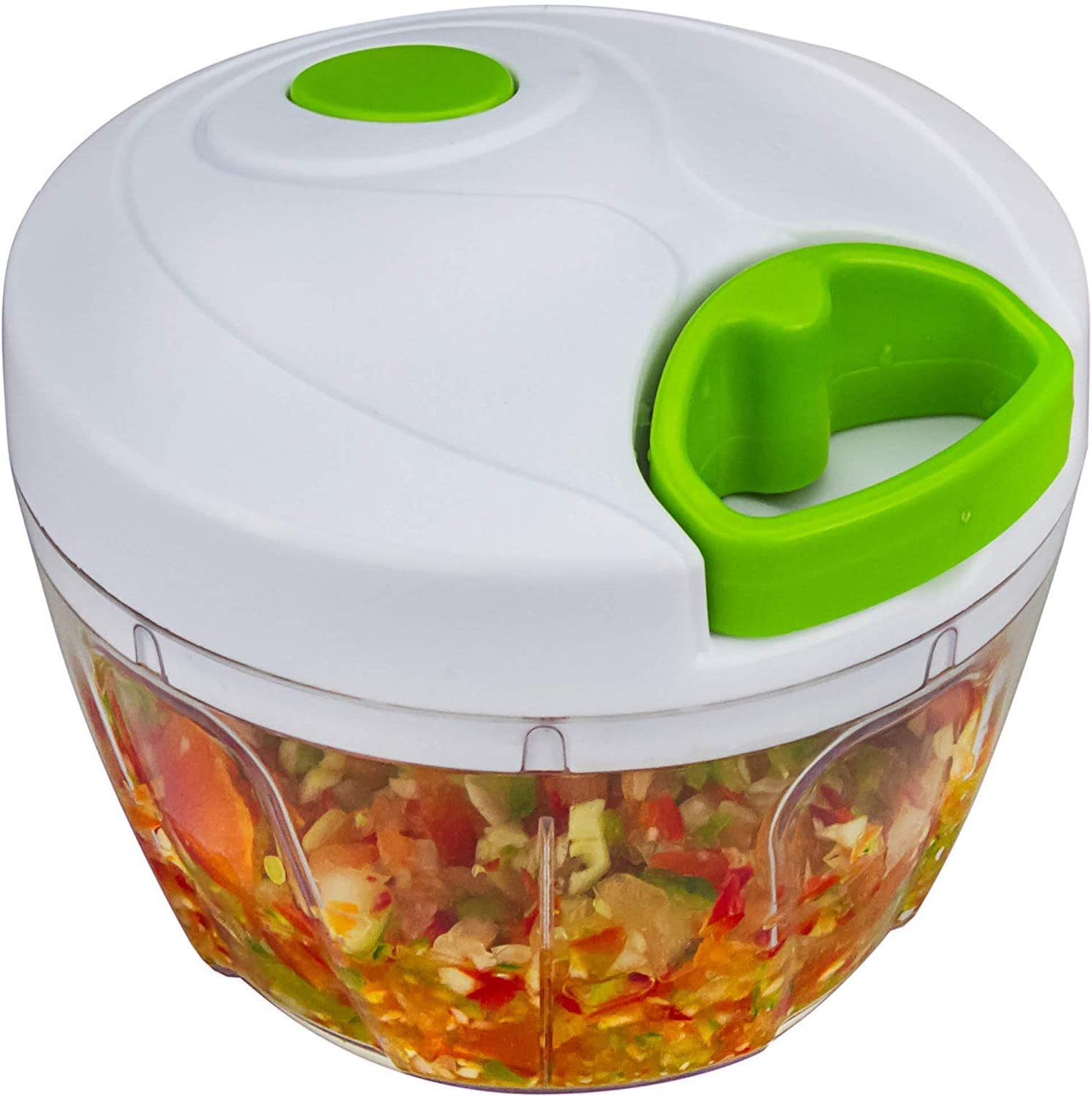 Shivaji Easy Pull Smart Plastic Chopper Vegetable Cutter and Food Processor
