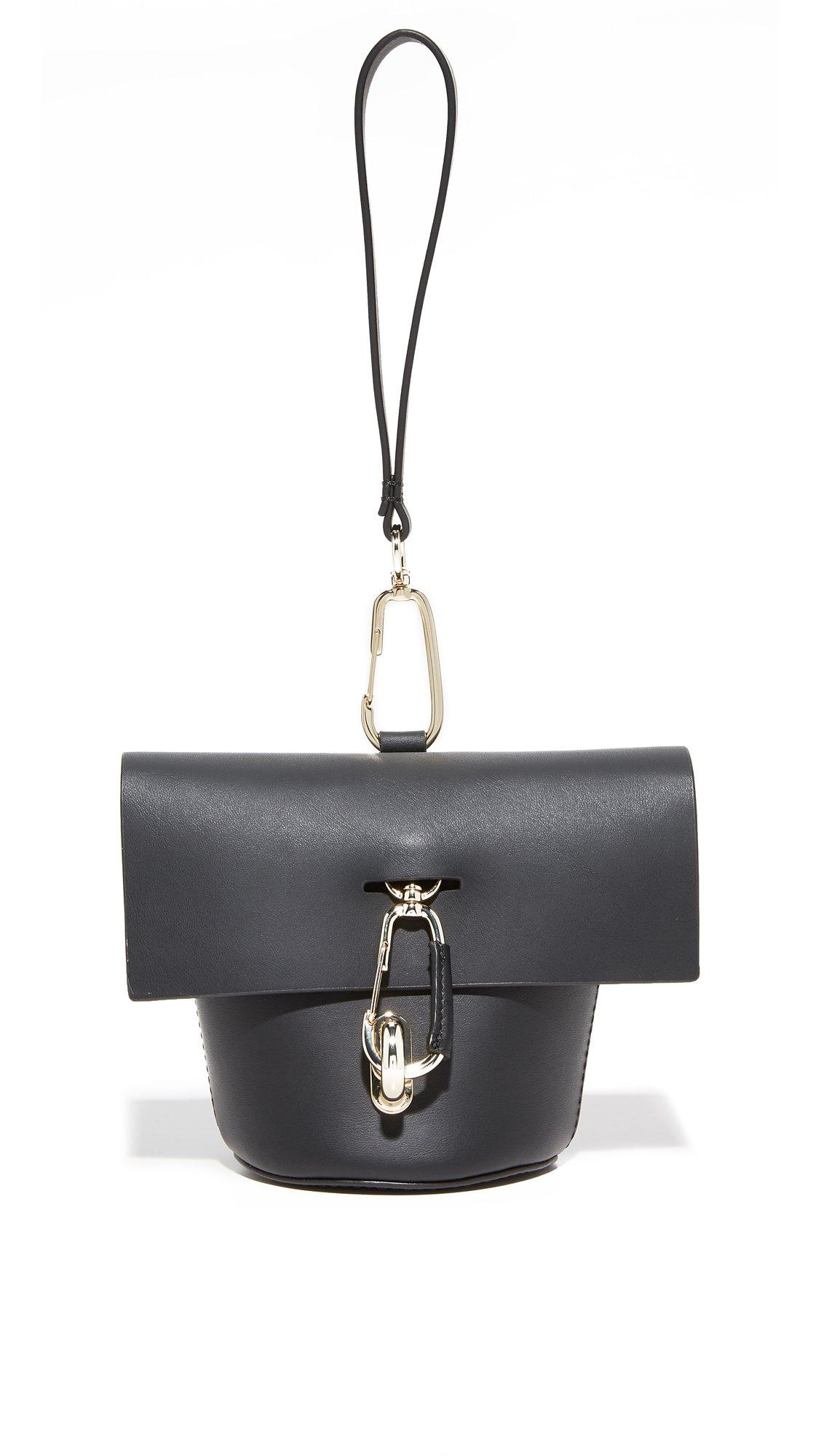 ZAC Zac Posen Women's Belay Wristlet, Black, One Size