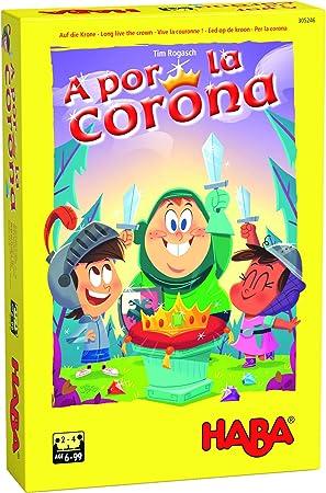 Haba Juego de Mesa A por la Corona-ESP, Multicolor (H305246): Amazon.es: Juguetes y juegos