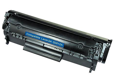 White Box Q2612A/ 12A - Cartucho de tóner compatible con HP ...