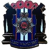Limited 2016 Elizabeth Regina Queen 90th Birthday Lest We Forget Red Poppy Enamel Pin Badge Brooch