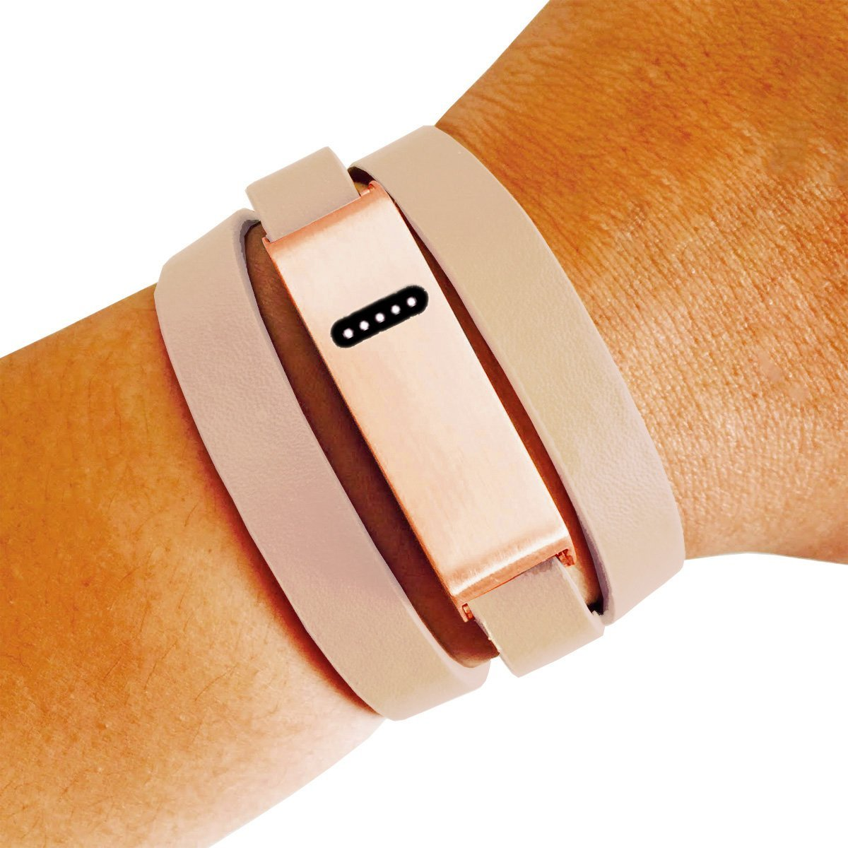 Fitbitブレスレットfor Fitbit Flexフィットネストラッカー M-L|Beige – Rose The Kate Insight Brushed Gold Metal andプレミアムVeganまたは本革バックルFitbitブレスレット B01EO036PW Beige and Rose Gold M-L M-L|Beige and Rose Gold, DIYのドグーストア:00d5b3cb --- malebeauty.xyz