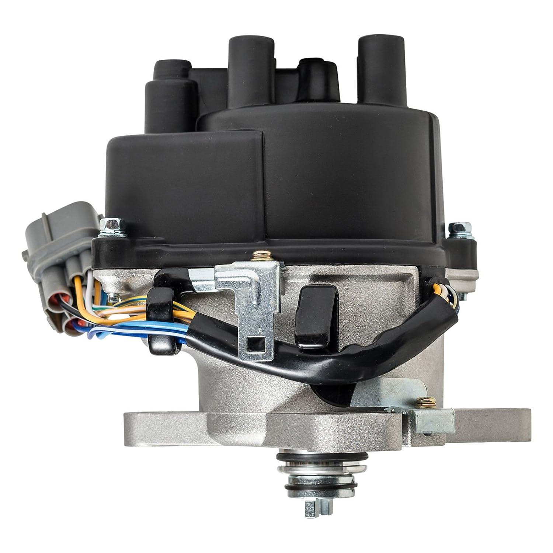 Ignition Distributor For 96 01 Honda Acura B16a B16a2 98 Obd2a Vtec Wiring Diagram B18c Dohc Fits Td 81u Td81u Automotive