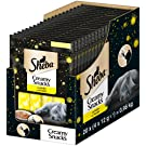 Sheba KatzenSnacks Katzenleckerli Creamy Snacks, 20 Packungen (20 x 12 g)
