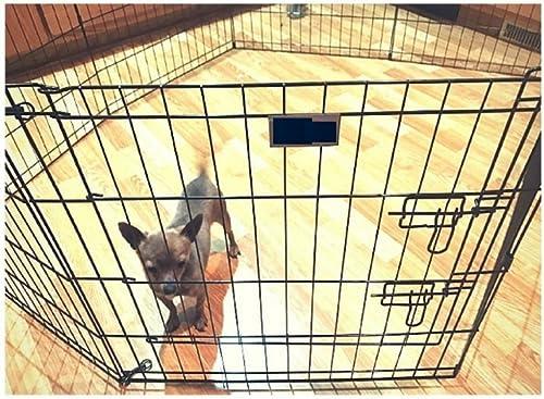 Bunny Rabbit Pen Exercise Indoor 39-Inch with Door House Pet Dog 8 Panel Gate Yard Enclosure X Pen Xpen Fence Playpen eBook by OISTRIA