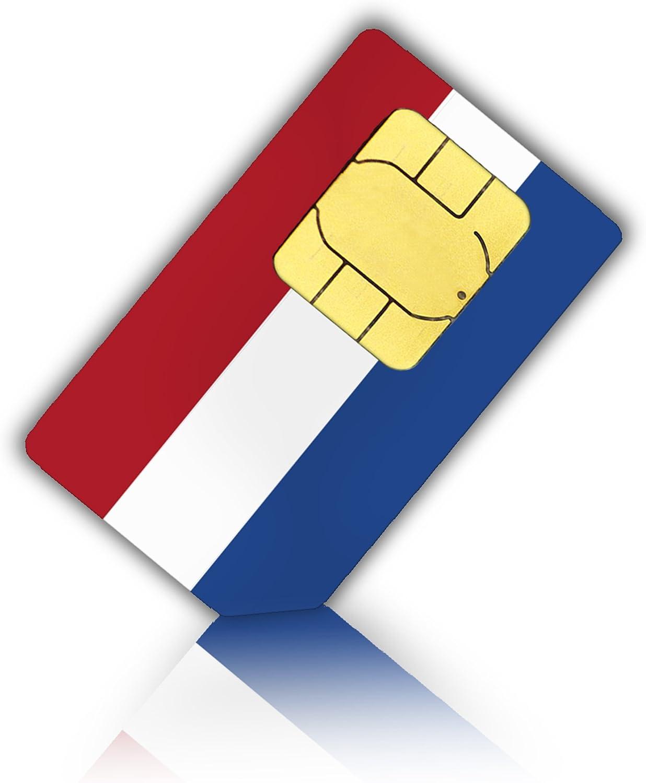 Tarjeta SIM para los países bajos (Holland) – Nano SIM – Neerlandés Prepaid tarjeta SIM: Amazon.es: Electrónica