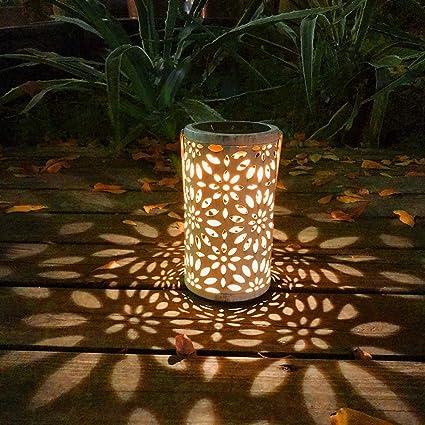 Led Lanterne Solaire Creuse Lumiere Solaire Vintage De