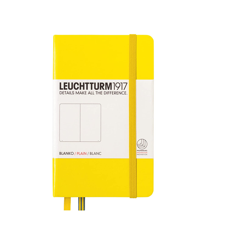 color verde azulado Cuaderno de notas Leuchtturm1917 339601 A6, 185 p/áginas, hojas cuadriculadas