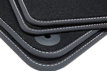 2016 Premium Doppelziernaht Fußmatten für VW Tiguan 2 ab Bj