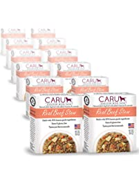 Caru Real Beef Stew For Dogs, Natural Adult Wet Dog Food With Added Vitamins And Minerals, Free From Grain, Wheat And Gluten