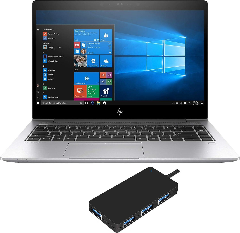 """HP EliteBook 840 G6 Laptop (Intel i5-8265U 4-Core, 16GB RAM, 1TB PCIe SSD, Intel UHD 620, 14"""" Full HD (1920x1080), Fingerprint, WiFi, Bluetooth, Webcam, 2xUSB 3.1, 1xHDMI, Win 10 Pro)"""