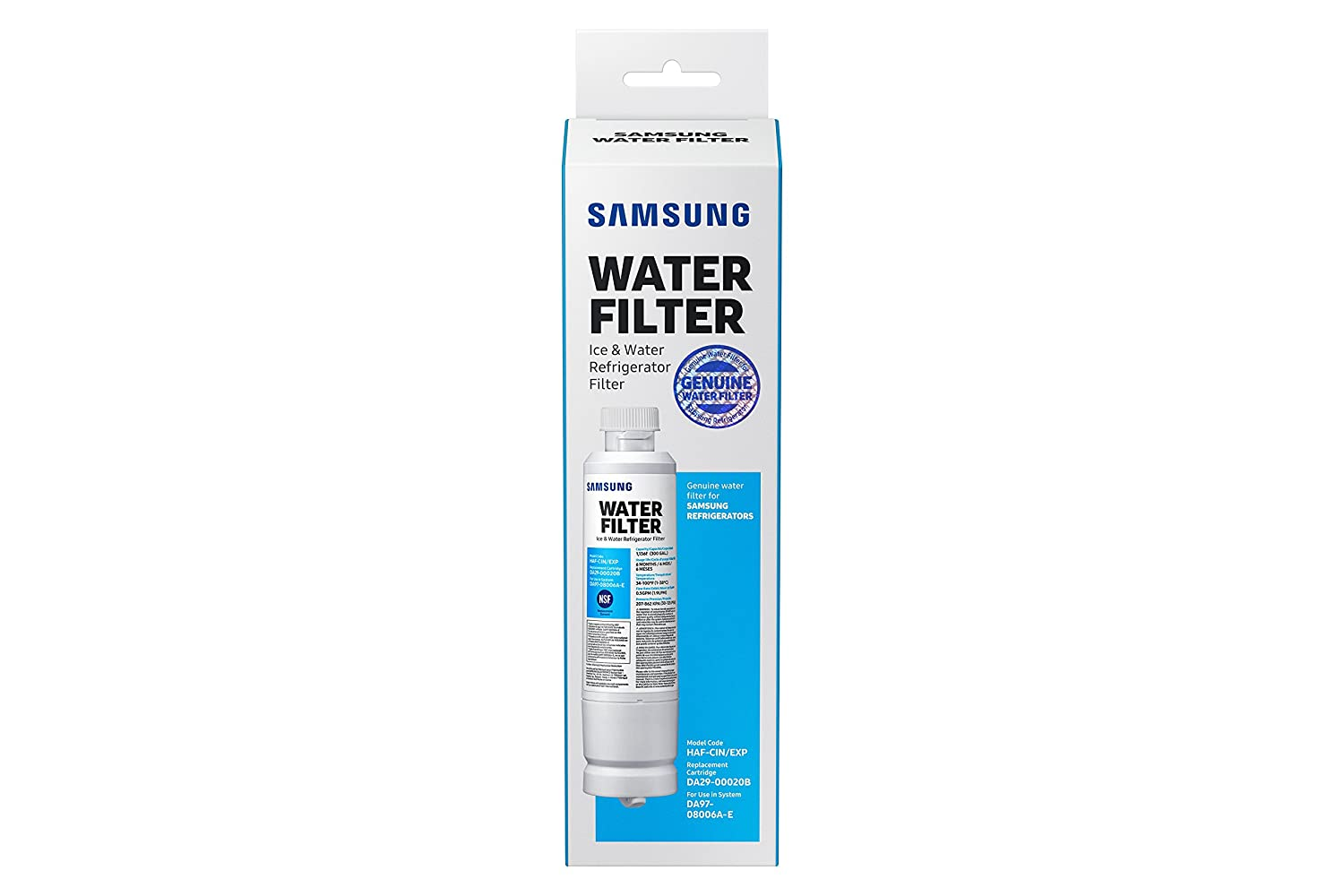 Buy samsung genuine da29 00020b refrigerator water filter 1 pack buy samsung genuine da29 00020b refrigerator water filter 1 pack online at low prices in india amazon fandeluxe Gallery