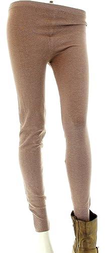 arrives e6efb 45cd9 Charleselie94 ® Leggings Fuseaux Lana Cachemire Tom Donna Pantaloni Inverno  Tricot