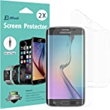 Galaxy S6 Edge Screen Protector, [Full Coverage], JETech SOFTOUGH 2-Pack TPE Ultra HD Screen Protector Film for Samsung Galaxy S6 Edge