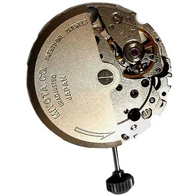 Amazon.com: Miyota 8215 Automatic Mechanical 3 Hands Date 21 Jewels Japan Made Original New: Watches